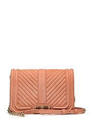 Small Love Crossbody - DUSTY PEACH / GOLD