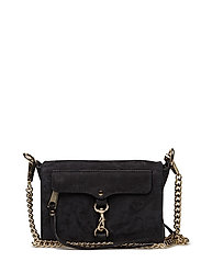 Mab Flap Crossbody - BLACK / GOLD