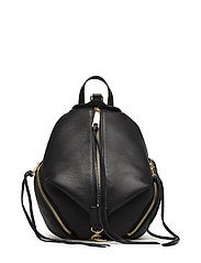 Medium Julian Backpack - BLACK / GOLD