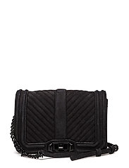 Small Love Crossbody - BLACK / BLACK