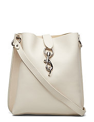Megan Shoulder Bag Pebble - 020 CLAY