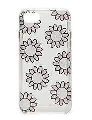 Glitter Daisies Case Iphone 7 TECH - MSGC MULTI GLITTER/SILVER GLITTER/CLEAR