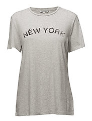 Delaney Tee: Ny - 053 LT HEATHER