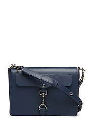 Mab Flap Crossbody Nappa - TWILIGHT-NICKEL