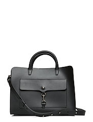 Big Mab Satchel Nappa - BLACK