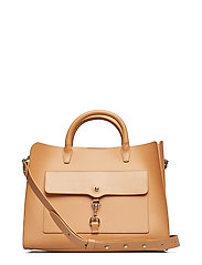 Big Mab Satchel Nappa - HONEY