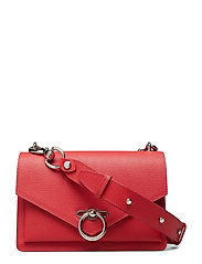 Jean Md Shoulder Bag Caviar - TOMATO
