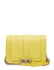 Small Love Crossbody Nappa - CAPRICE YELLOW-NICKEL