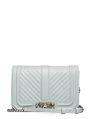 Small Love Crossbody Nappa - ICE BLUE-NICKEL