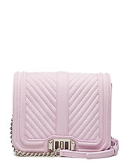 Small Love Crossbody Nubuck - LIGHT ORCHID-NICKEL