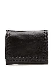 Mini Vanity Wallet - BLACK/SILVER