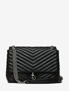 Edie Flap Shoulder - BLACK