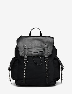 BOWIE NYLON BACKPACK - BLACK