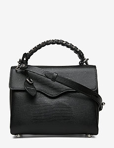 CHAIN SATCHEL - BLACK