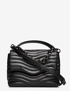 MAB QUILT TOP HANDLE SATCHEL - torby na ramię - black