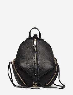 Medium Julian Backpack - BLACK / GOLD