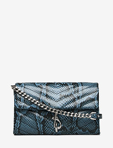 EDIE WALLET ON CHAIN - punge - cement blue