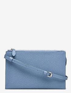 GABBY WALLET ON A CHAIN - schultertaschen - cement blue