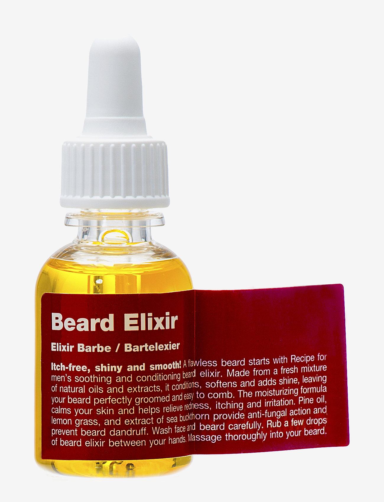 Recipe for Men - Beard Elixir - skægolie - clear - 0