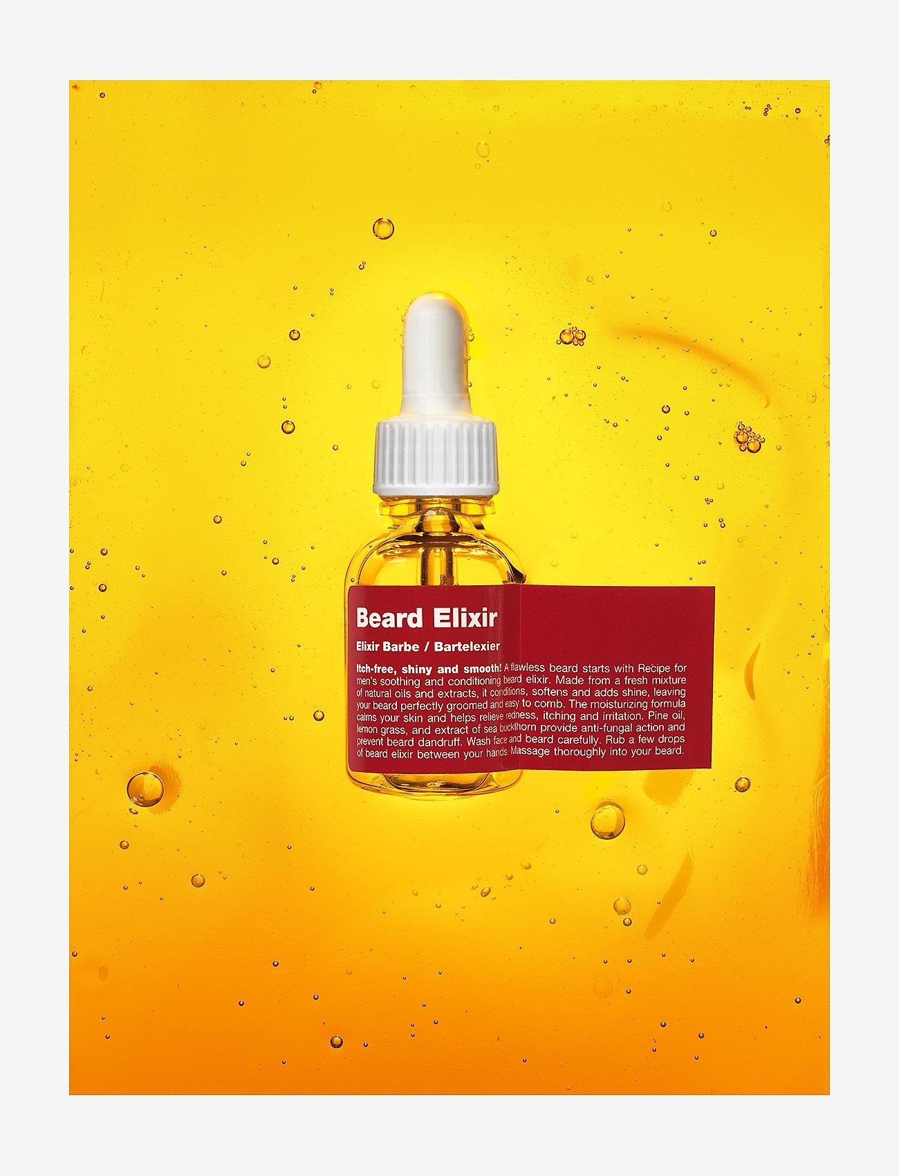 Recipe for Men - Beard Elixir - skægolie - clear - 1