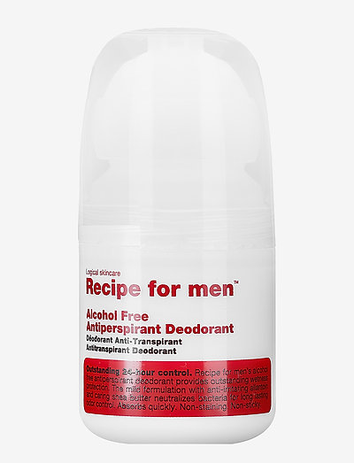 Alcohol Free Antiperspirant Deodorant - deo roll-on - clear