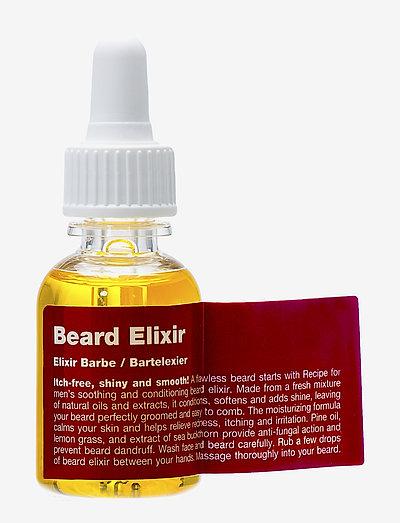 Beard Elixir - skäggolja - clear