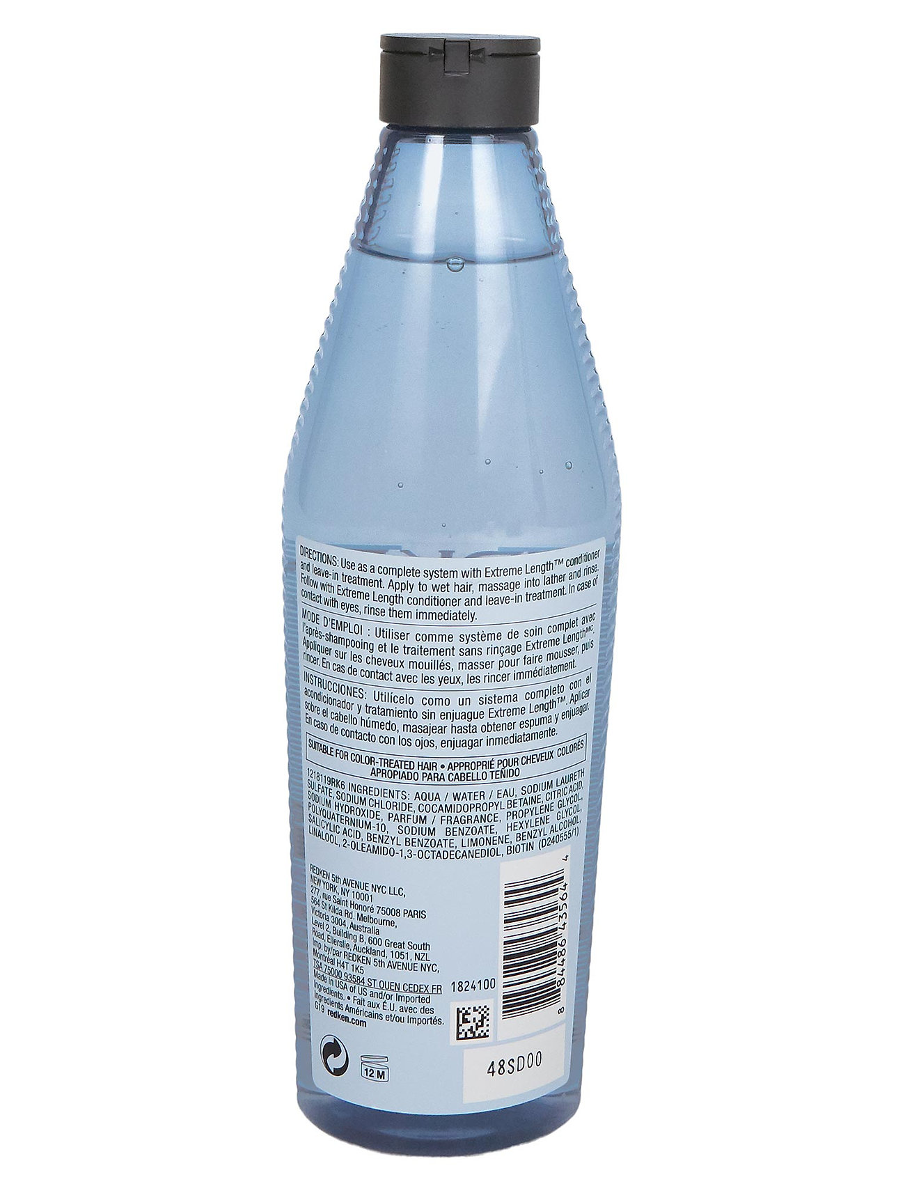 Redken - Extreme Length Shampoo - shampoo - clear - 1