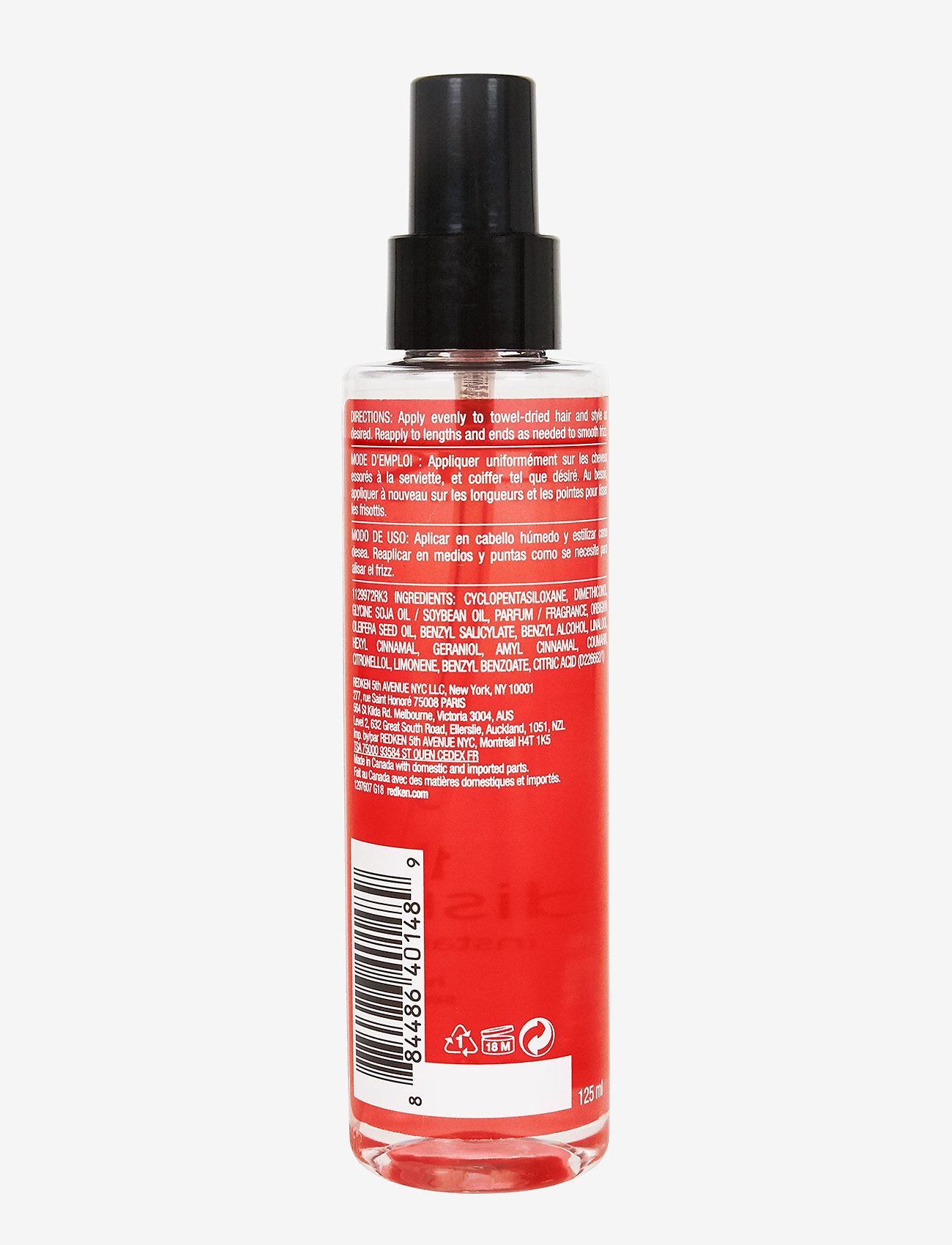 Redken - Frizz Dismiss Instant Deflate Oil-in Serum - hårvård - clear - 1