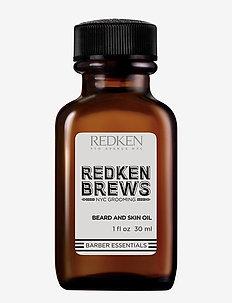 Brews Beard and Skin Oil - skäggolja - clear