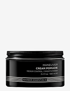 Brews Maneuver Cream Pomade - pomade - clear