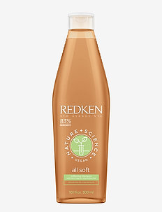 Redken Nature + Science All Soft Shampoo - balsam & conditioner - clear