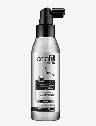Cerafill Dense FX Treatment - hårkurer - clear