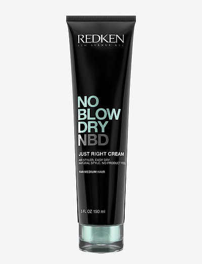 Redken No Blow Dry Medium Hair - stylingkrem - clear