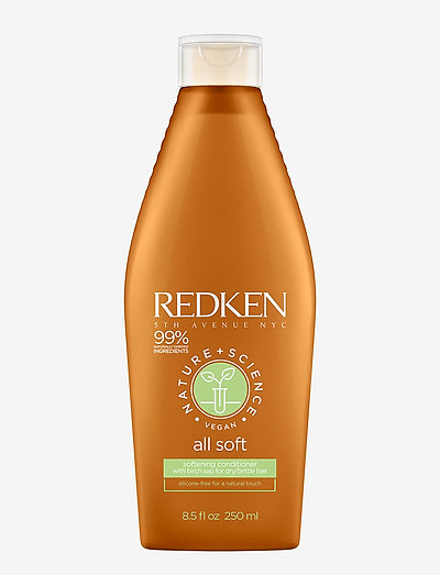 Redken Nature + Science All Soft Conditioner - balsam & conditioner - clear