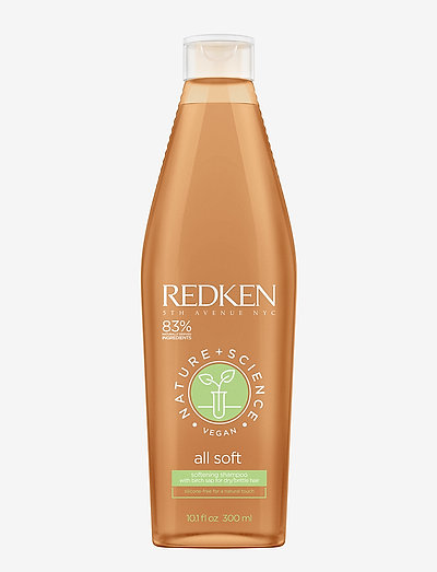 Redken Nature + Science All Soft Shampoo - hoitoaine - clear