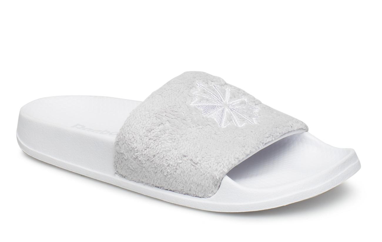 Reebok Classic Slide (White lgh Solid Grey) (£14.97) - Reebok ... 13b63dcee