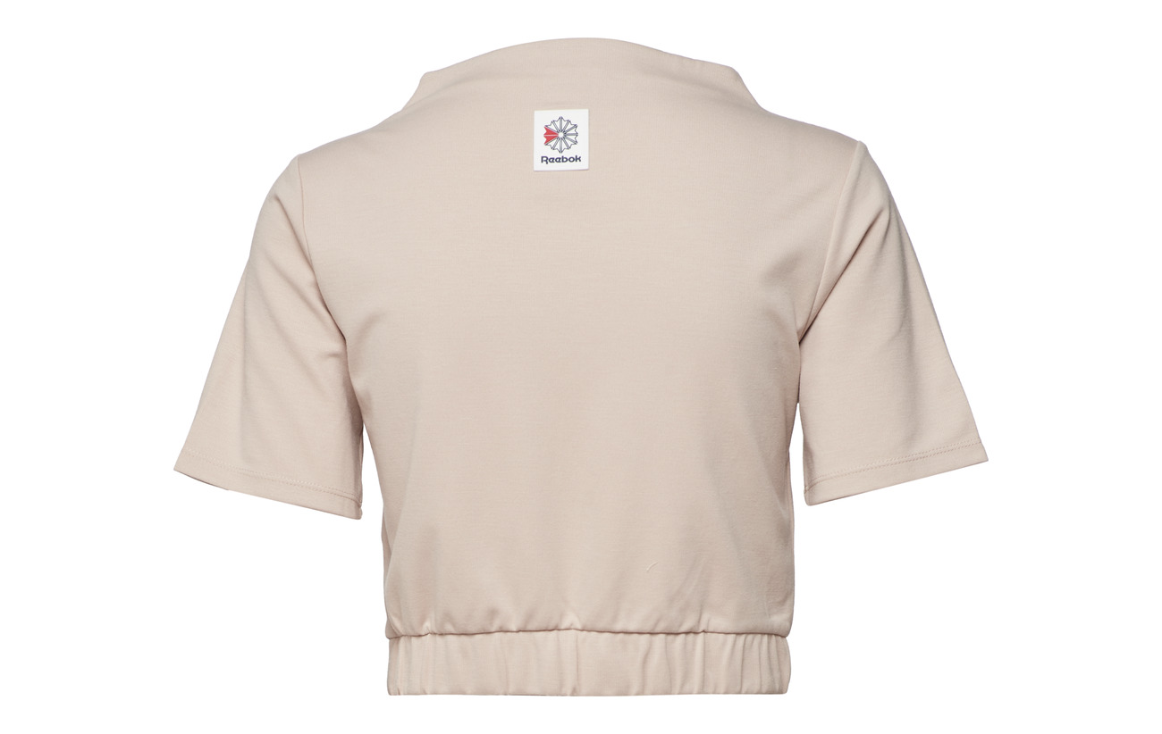 23 Polyester Es Elastane Tee 72 Classics Viscose Bunblu Crop 5 Reebok f0nAPYw