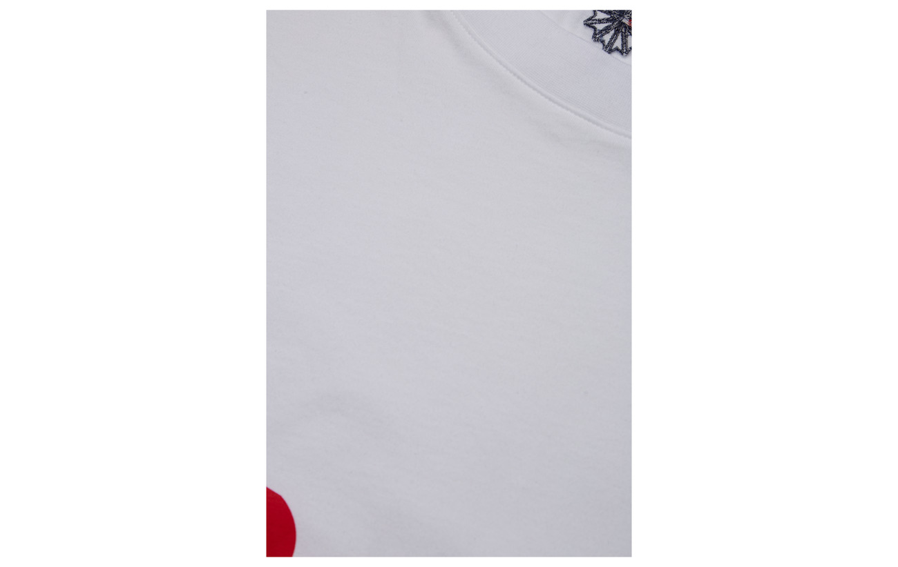 Cropped Coton White Reebok Ac 100 Classics Tee conavy wq4CZp6E