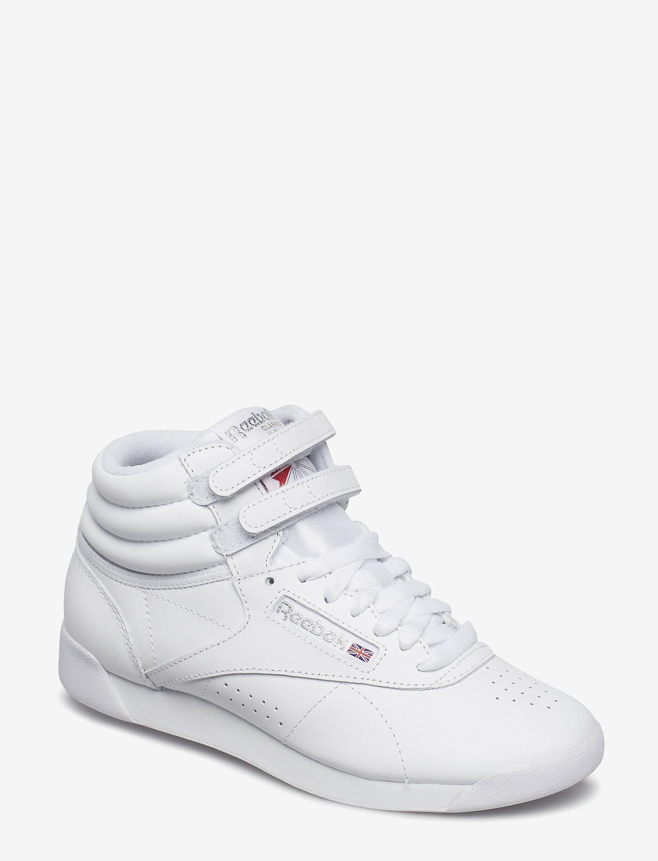 Reebok Classics - Freestyle Hi W - hoge sneakers - white/silver - 1