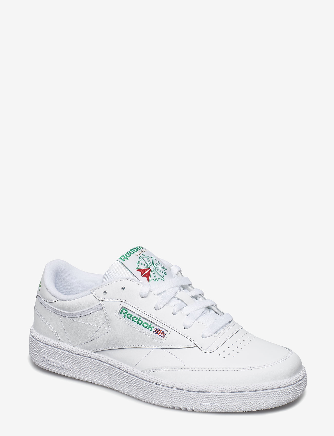 Reebok Classics - CLUB C 85 - laag sneakers - white/green - 0