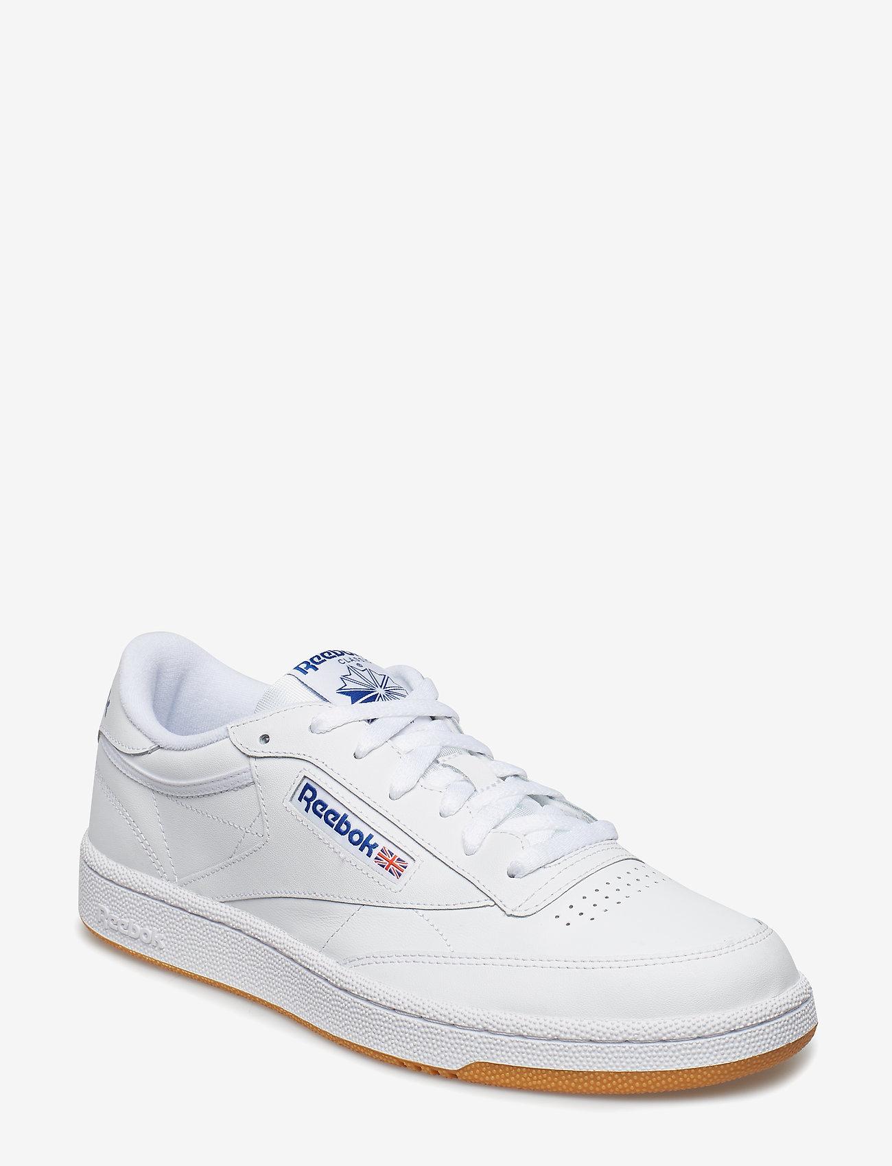 Reebok Classics - CLUB C 85 - laag sneakers - white/royal/gum - 0