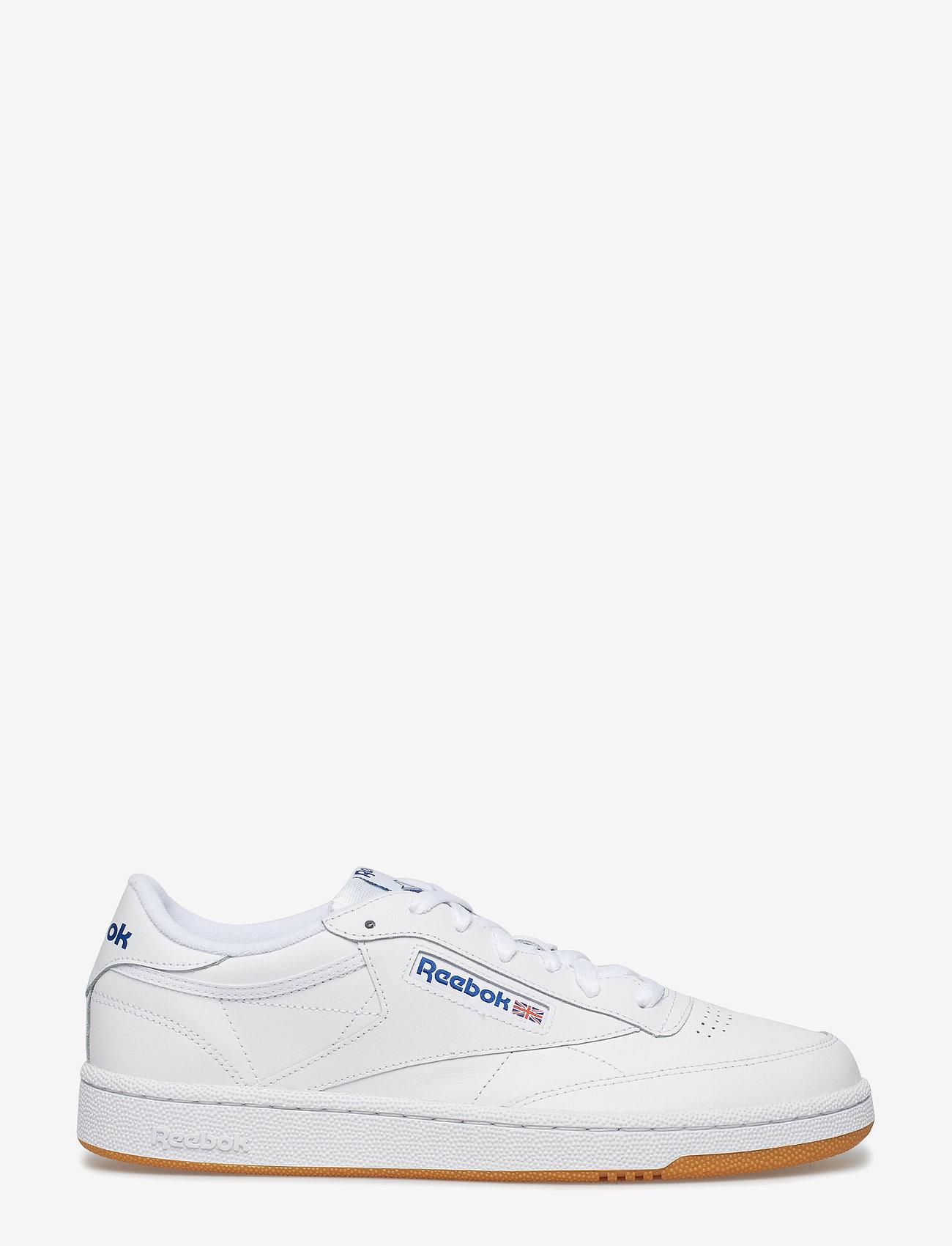Reebok Classics - CLUB C 85 - laag sneakers - white/royal/gum - 1