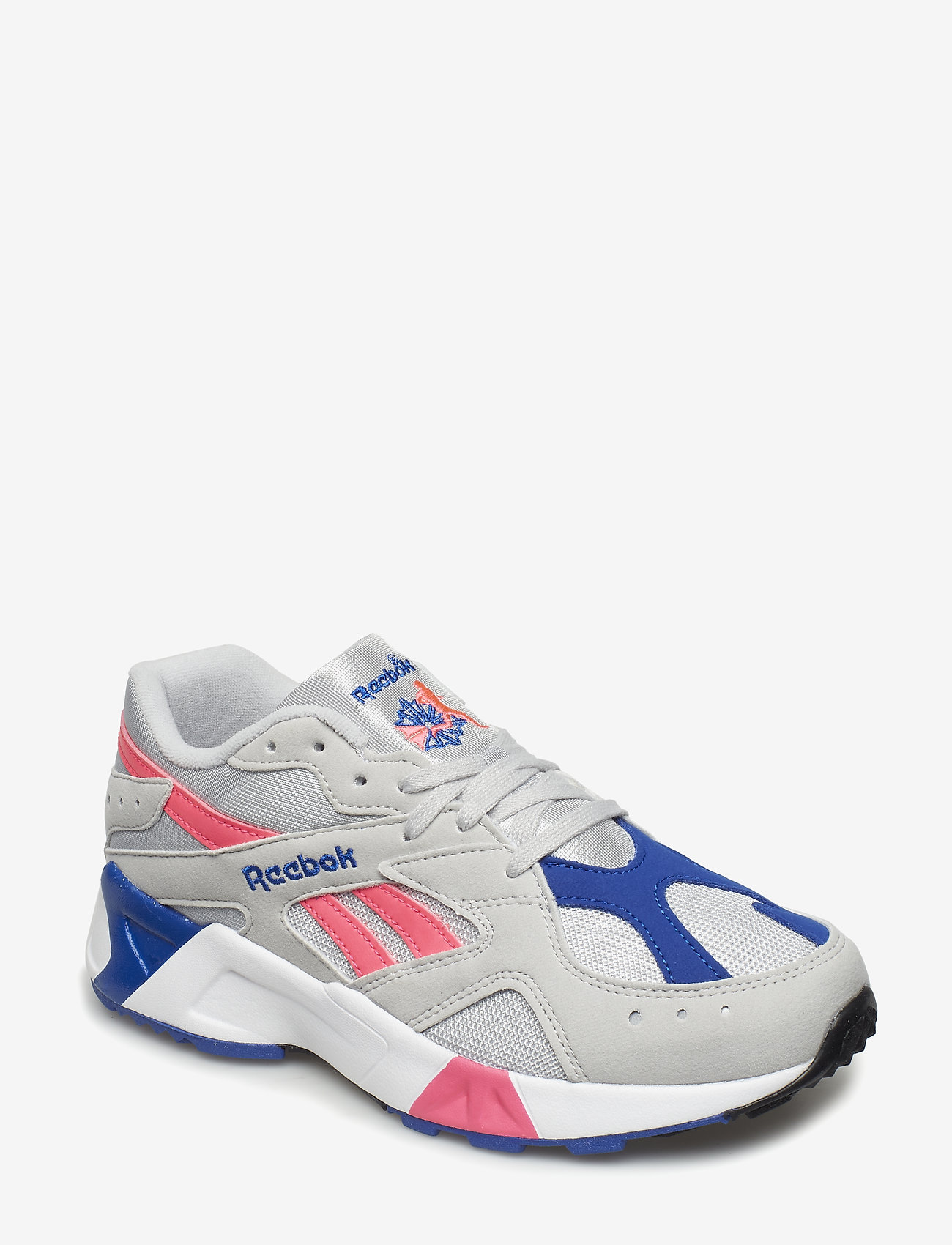 Reebok Classics - AZTREK - chunky sneakers - grey/acid pink/royal/