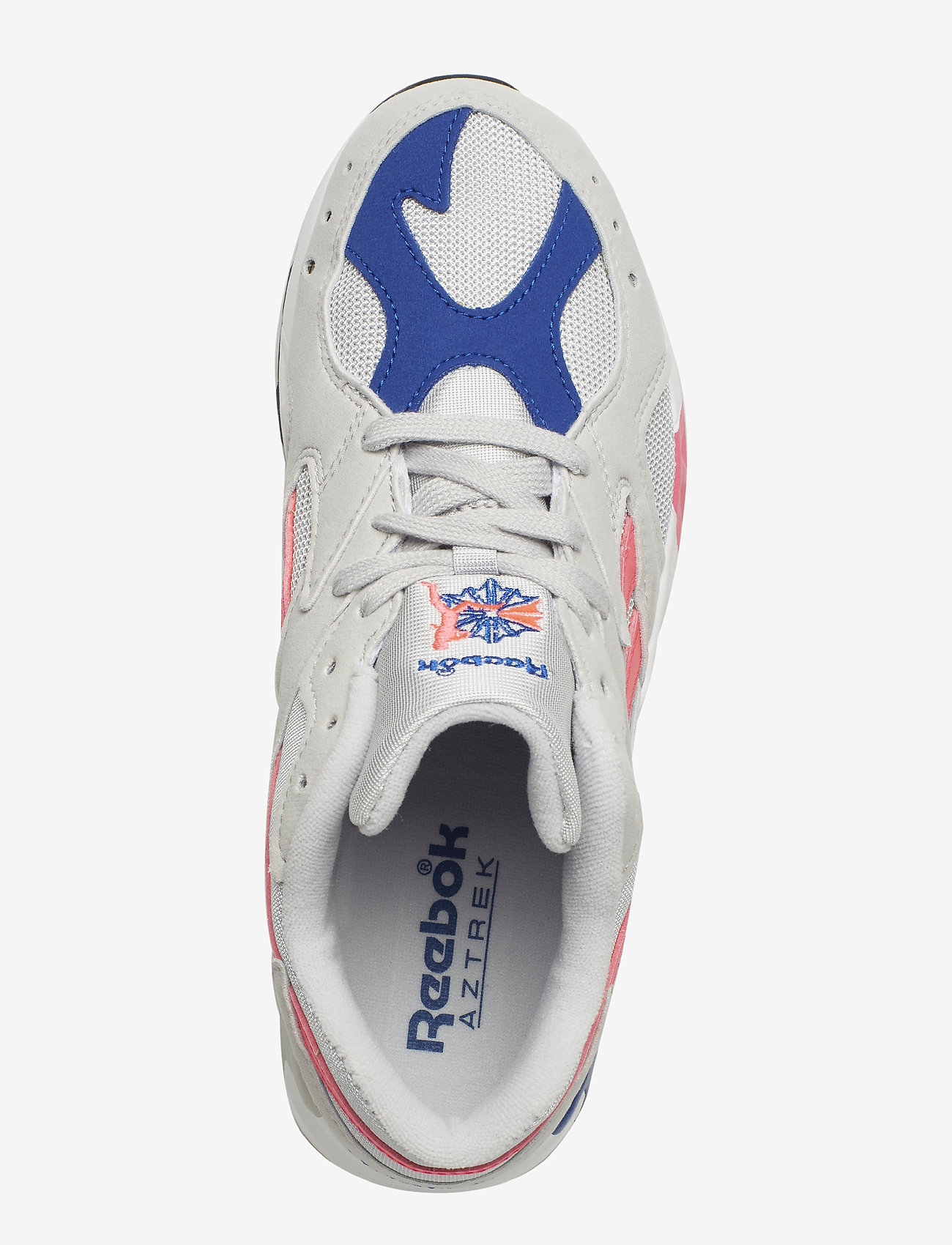 Reebok Classics Aztrek - Sneakers Grey/acid Pink/royal/