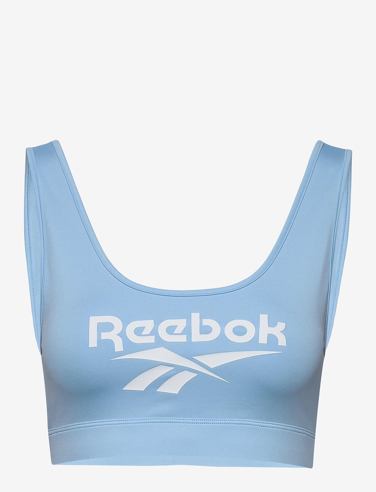 Reebok Classics - CL F VECTOR BRALETTE - sport bras: low - flublu - 1