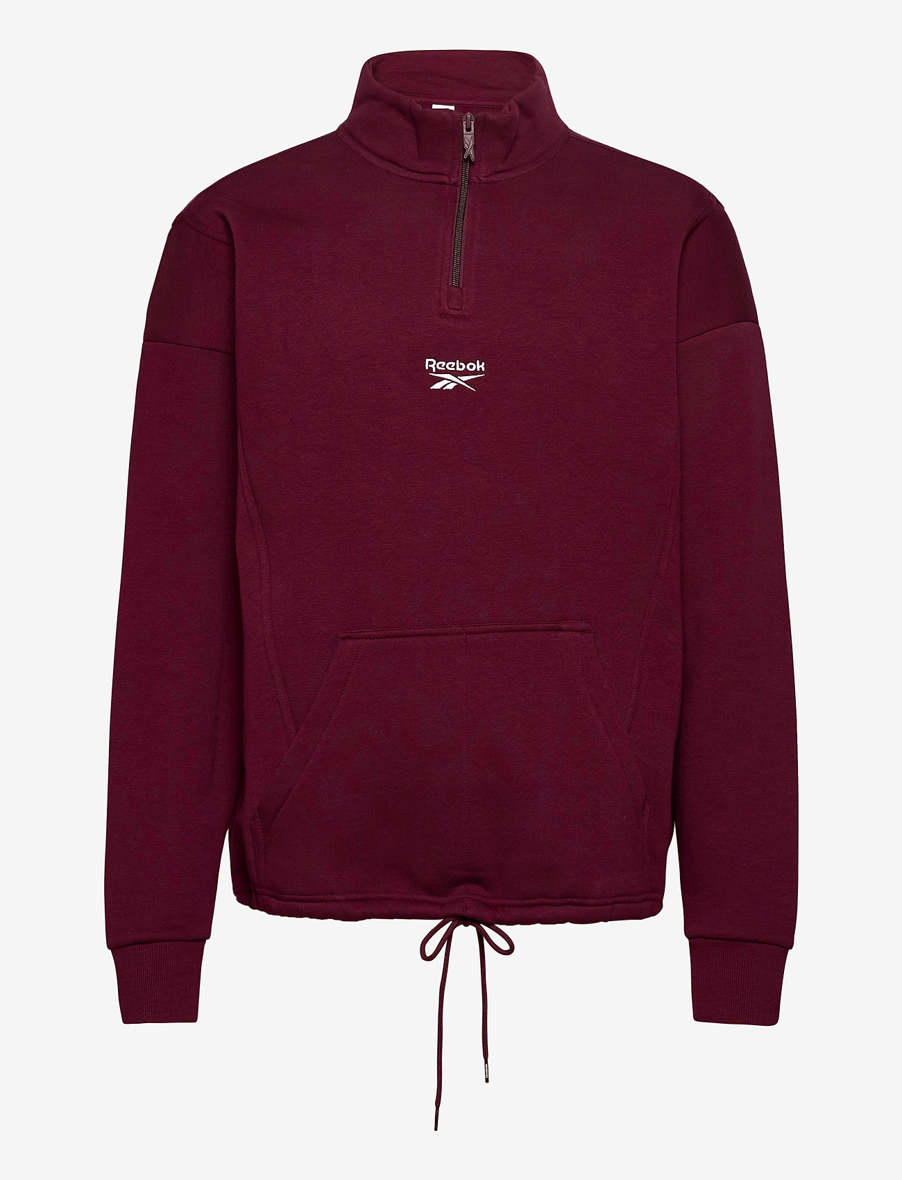Reebok Classics - CL F HALFZIP SWEATER - basic-sweatshirts - maroon - 1