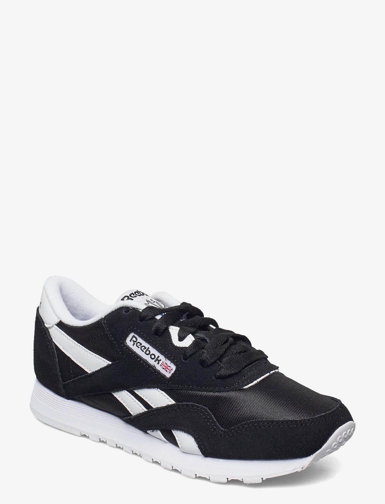 Reebok Classics - Classic Nylon W - lage sneakers - black/white/none - 1