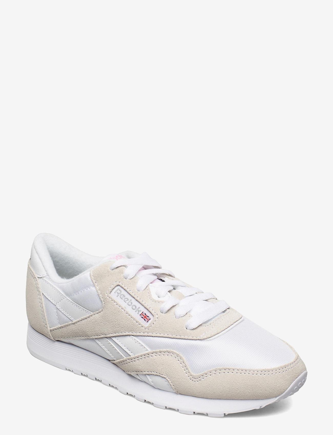 Reebok Classics - Classic Nylon W - lage sneakers - white/lgtgre/none - 0