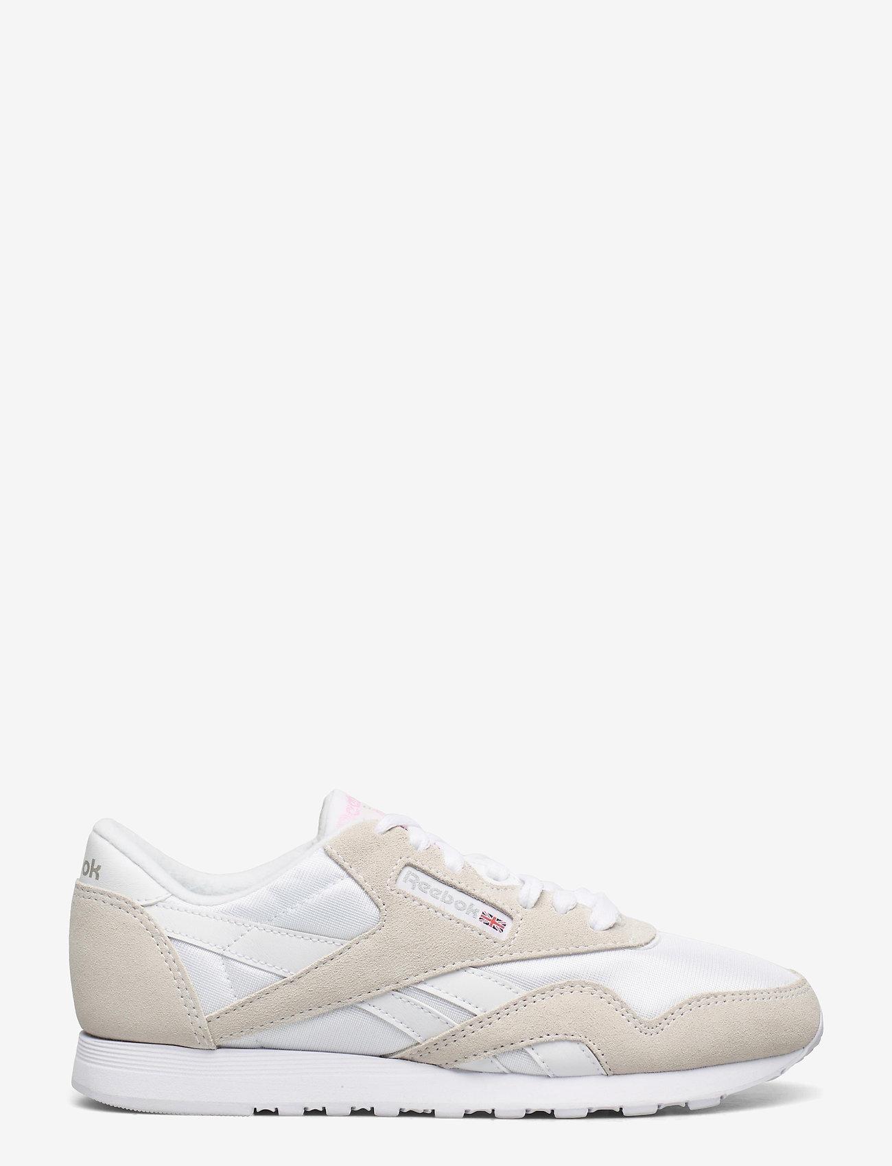 Reebok Classics - Classic Nylon W - lage sneakers - white/lgtgre/none - 1