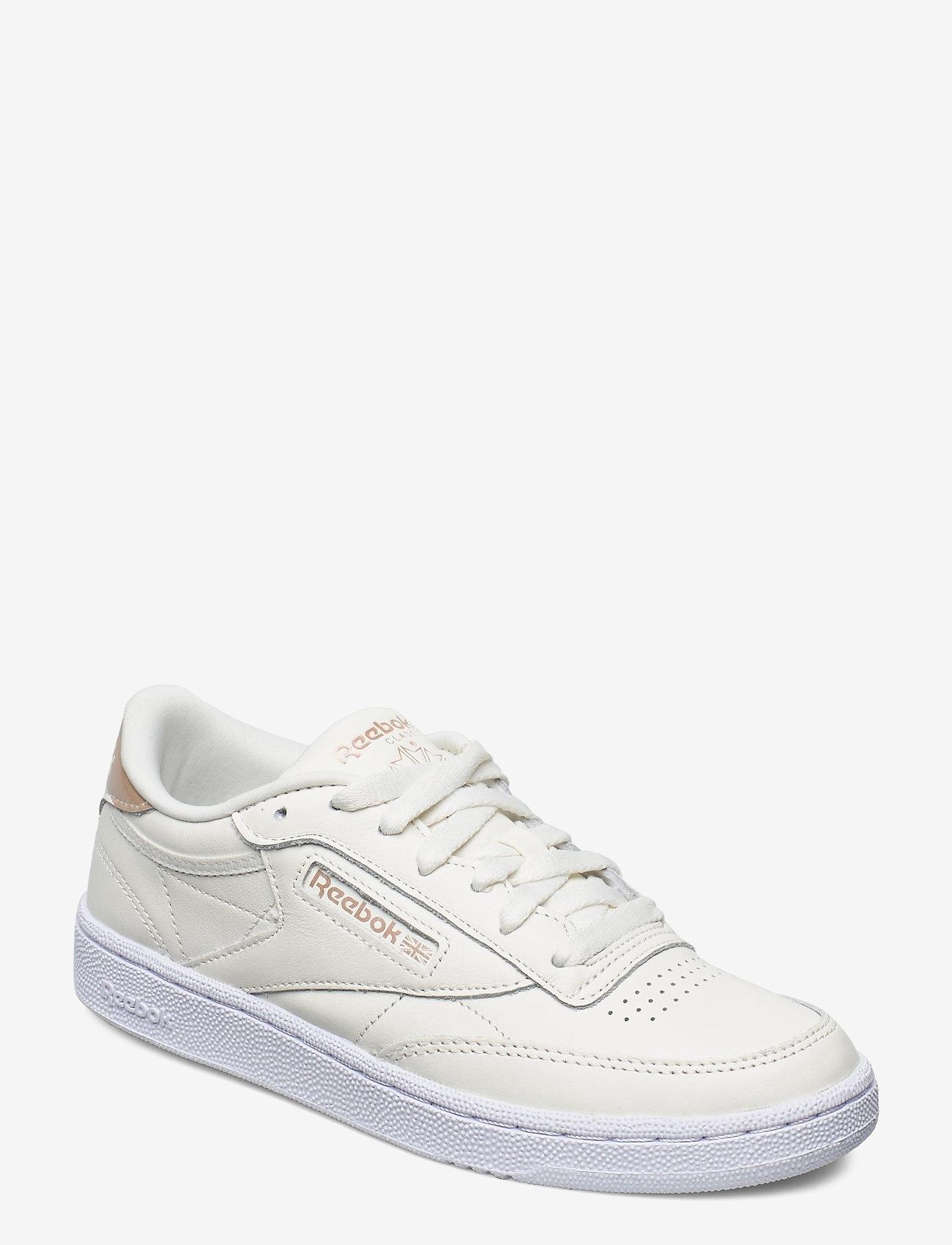 Reebok Classics - Club C 85 W - sneakers - chalk/golbro/ftwwht - 0